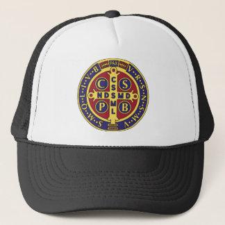 Cross of St. Benedict Trucker Hat