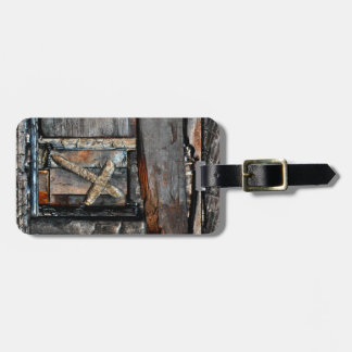 Cross of Strength & Path of Life Luggage Tag