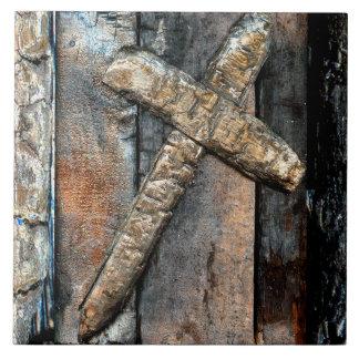 Cross of Strength Tile