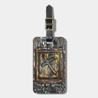 Cross of The Apocalypse Luggage Tag