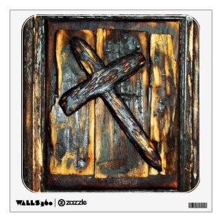Cross of The Apocalypse Wall Decal