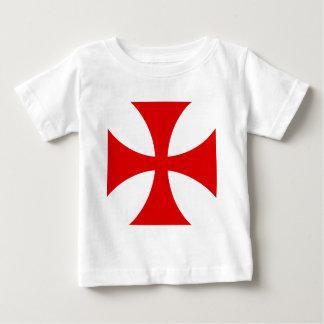 Cross of the Knights Templar Baby T-Shirt