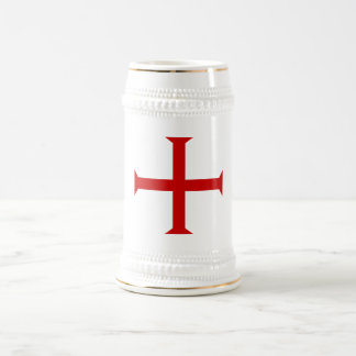 Cross of the Knights Templar Beer Stein