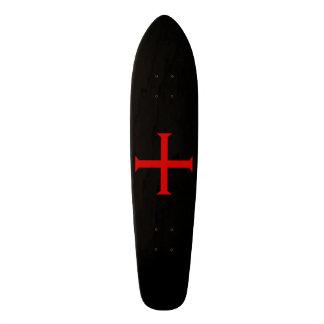 Cross of the Knights Templar Skateboard