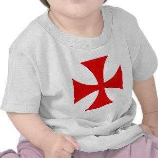 Cross of the Knights Templar T Shirt
