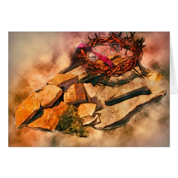 NaturesSol Cross of Thorns Card