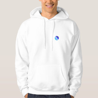 Cross on Orb Christian Hoodies & Shirts (Blue)