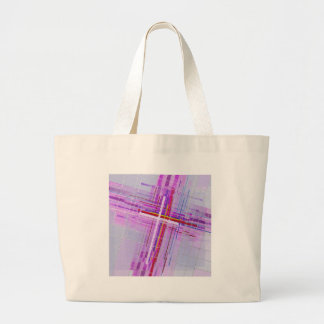 Cross over. large tote bag
