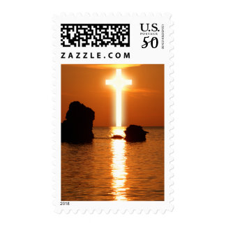 Cross Over Water Postage