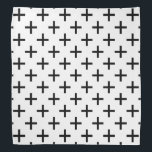 """Cross Pattern Bandana<br><div class=""""desc"""">This cute bandana is the perfect accessory for you,  your child or your favorite dog.</div>"""