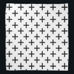 "Cross Pattern Bandana<br><div class=""desc"">This cute bandana is the perfect accessory for you,  your child or your favorite dog.</div>"