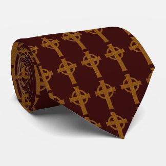 Cross Pattern Neck Tie