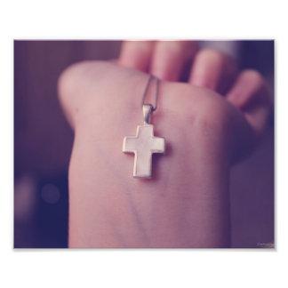 Cross Pendant. Photo Print