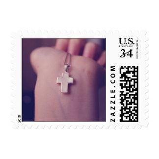 Cross Pendant. Stamp