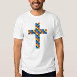 Cross_Plain Tee Shirts