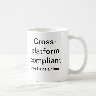 Cross platform compliant coffee mugs
