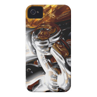 Cross Pollination Abstract iPhone 4 Case-Mate Case