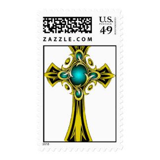 cross postage stamp