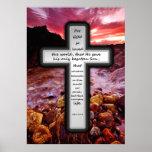 Cross Poster - John 3:16