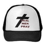 Cross - Real Men Pray Trucker Hat