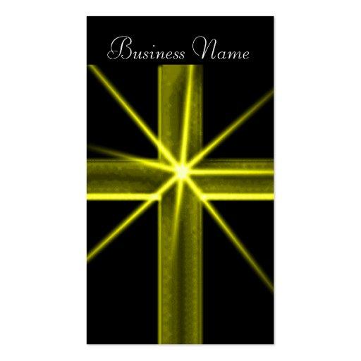 Cross religious Business Card