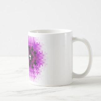 Cross Ripple Purple Mug