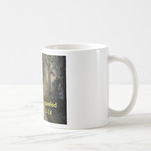 Cross Road Classic White Coffee Mug