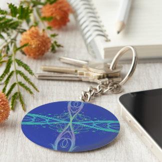 Cross Roads Keychain