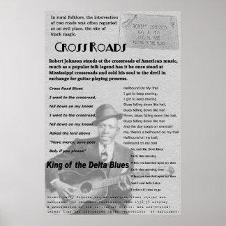 Cross Roads Remembering Robert Johnson Poster