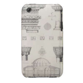 Cross section and architectural details of Kutciuk iPhone 3 Case-Mate Case