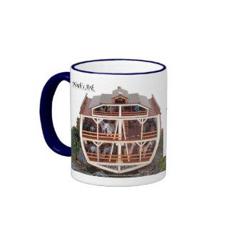 Cross Section Ark Model, STOR LABEL122 Ringer Mug