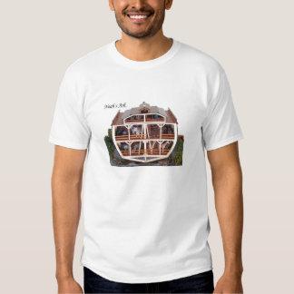 Cross Section Ark Model T-shirt