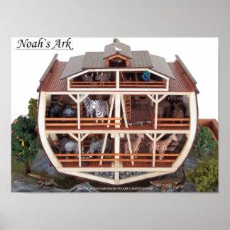 Cross Section Noahs Ark Model Picture Poster