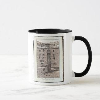 Cross-section of a mine mug