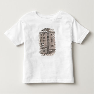 Cross-section of a mine t-shirt