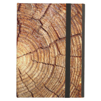 CROSS SECTION OF AN OLD TREE iPad AIR COVER