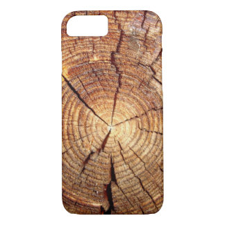 CROSS SECTION OF AN OLD TREE iPhone 7 CASE