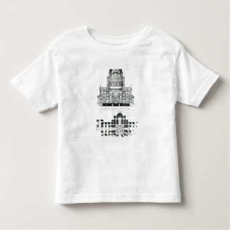 Cross section of St. Paul's Cathedral Tee Shirt