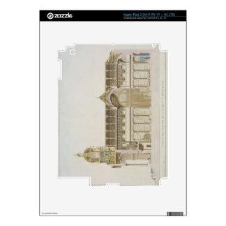 Cross Section of the Church of St. Jacques, Brusse Decals For iPad 3