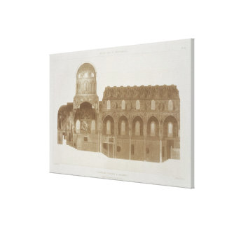 Cross-Section of the Palatine Chapel, Palermo, Sic Canvas Print