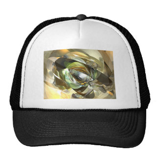 Cross Section Reflection Trucker Hat
