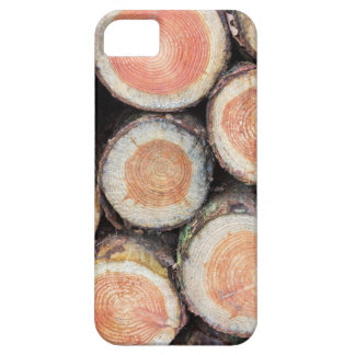-Cross sections of pine trunks iPhone SE/5/5s Case
