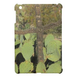 Cross Shaped Cactus iPad Mini Case