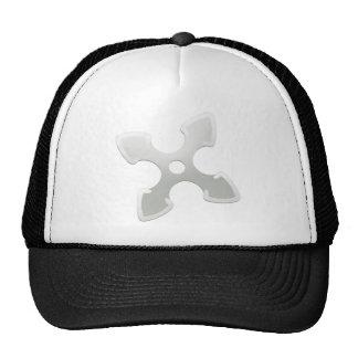Cross shuriken hat