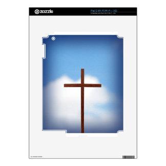 Cross Sky iPad 2 Skin
