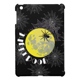 Cross spider in the net with full moon iPad mini case