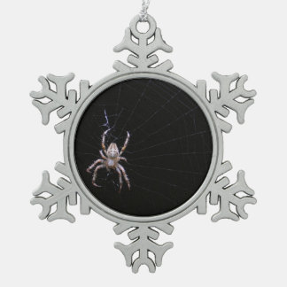 Cross Spider ~ Pewter ornament