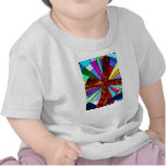 Cross stained glass detail photograph church tees