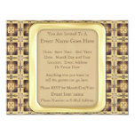 "Cross Stitch 4.25"" X 5.5"" Invitation Card"