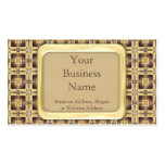 Cross Stitch Double-Sided Standard Business Cards (Pack Of 100)